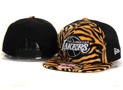 Los Angeles Lakers New Snapback Hat YS E27